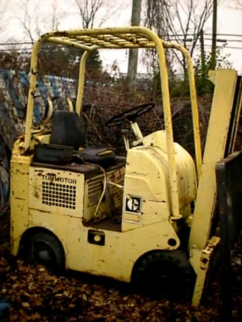 Towmotor forklifts for Motor city towing detroit michigan