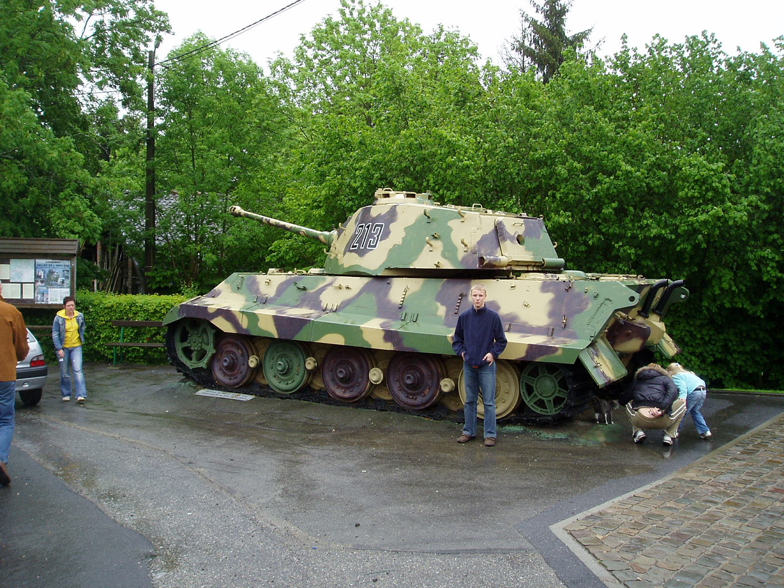 battle of the bulge - ardennen offensief - tiger panther en