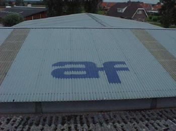 Dit dakpanplaten produkt is dus helem��l AF!!
