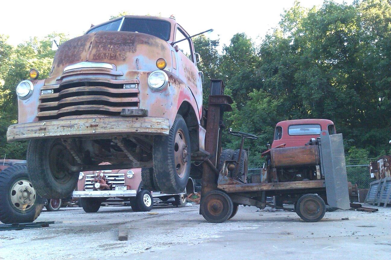 Vintage forklifts related keywords vintage forklifts for Clark tow motor parts