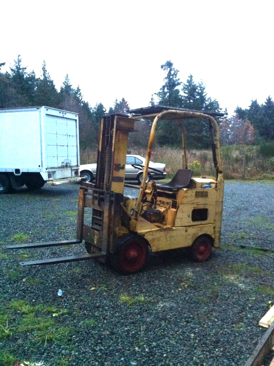 Towmotor forklifts tow motor for Used tow motors for sale