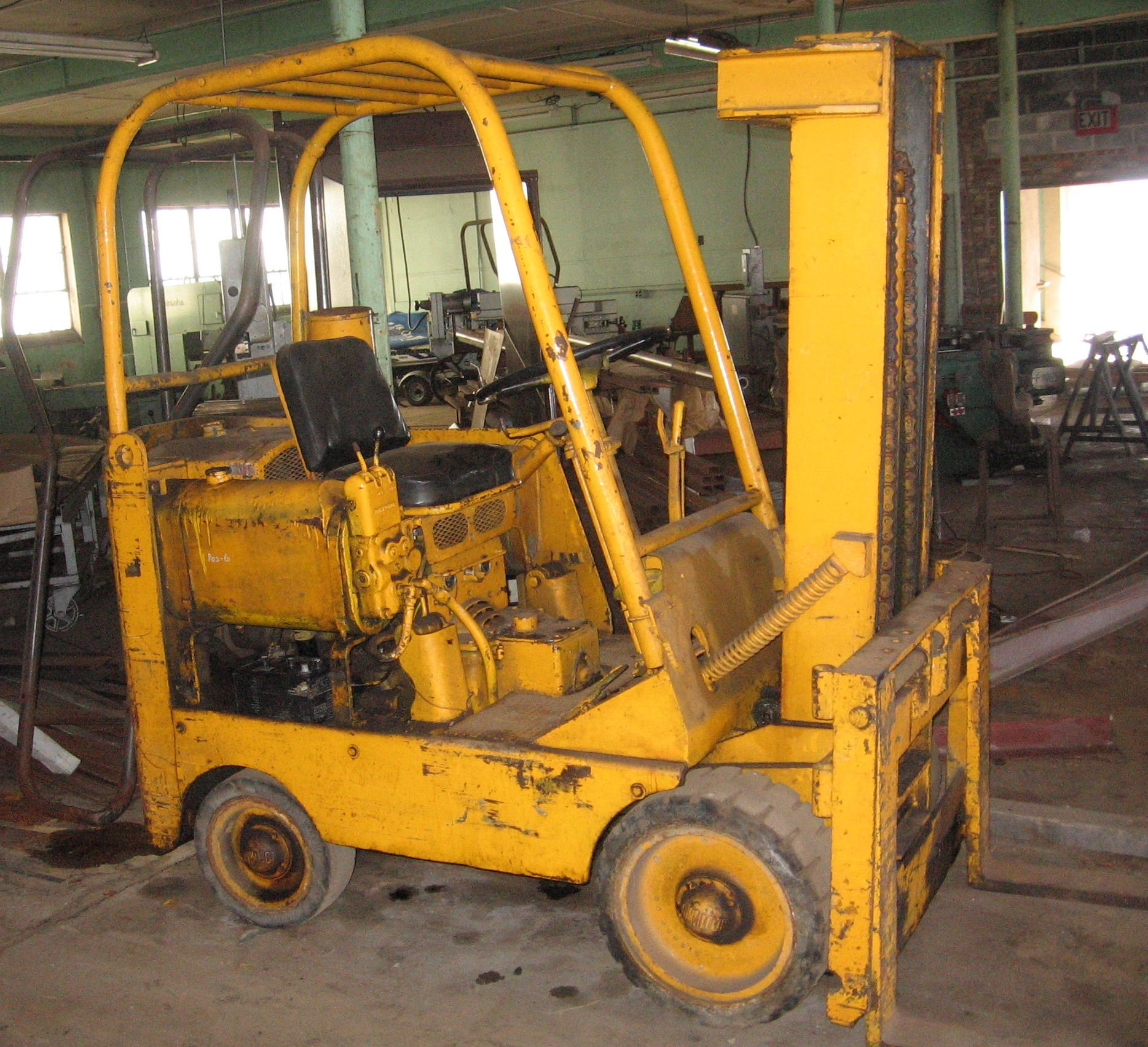 Towmotor Forklifts Pictures And History