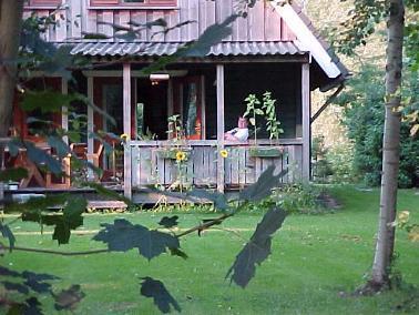 Ons houten huis een finn logs blokhut woning - Te vergroten zijn huis met een veranda ...