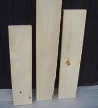 Populierenhout planken