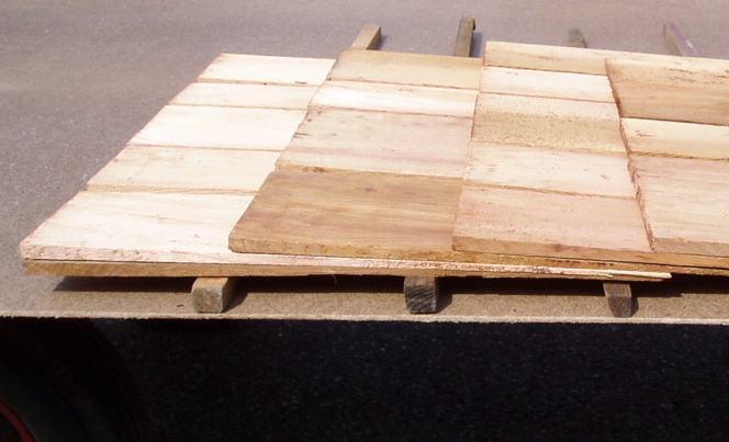 Bekend PRIJS Red Cedar dak-shingles MJ05