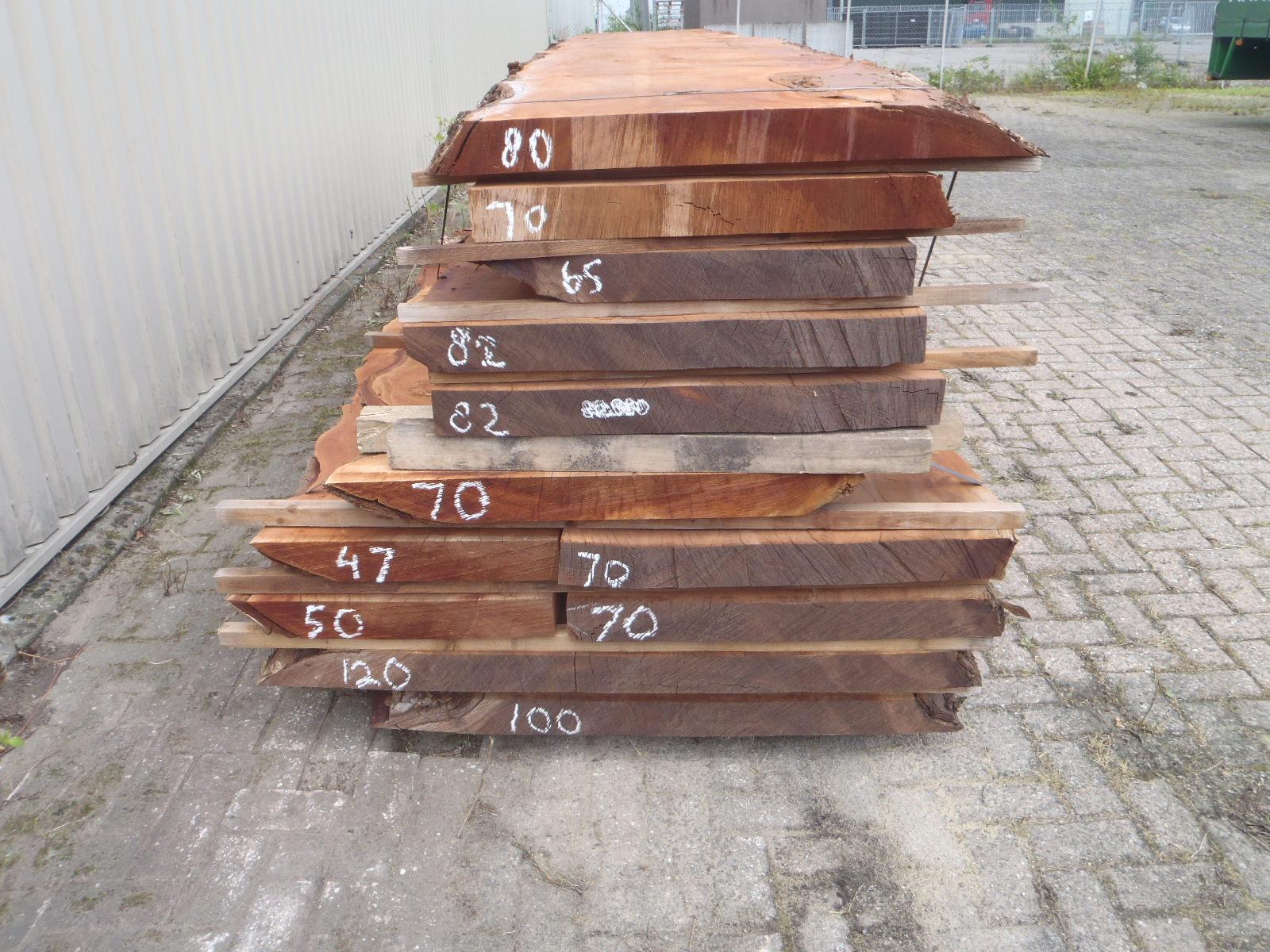 Stamdeel planken tbv massieve tafels