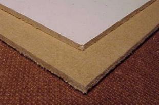 Hardboard platen gamma