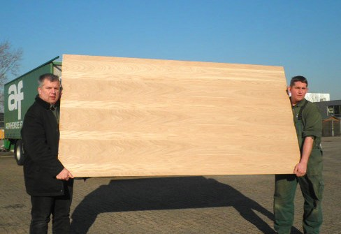 Eikenhout plaatmateriaal