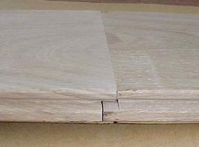 Mes groef planken