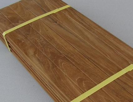 Teak vloer – Materialen voor constructie