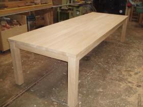 Eiken Tafel Schoonmaken : Tafelpoten hout karwei u geïmpregneerd hout schoonmaken
